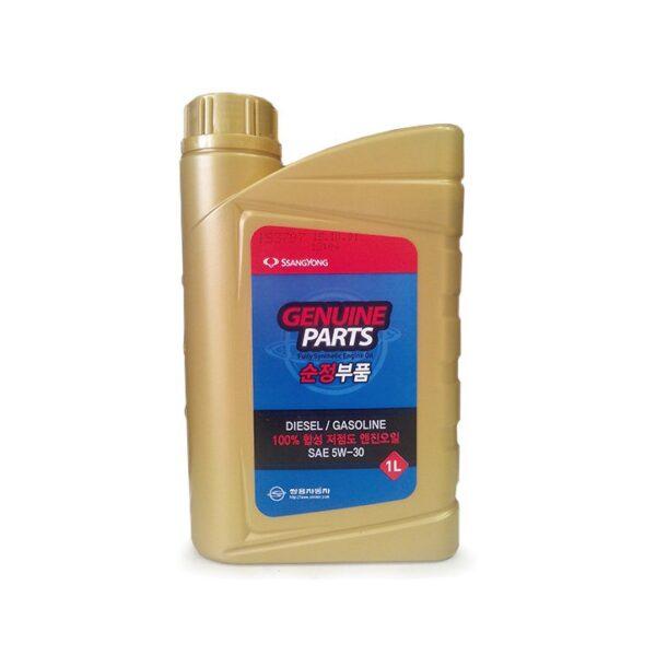 Масло моторное SSANGYONG Diesel Gasoline (100% синтетика) 5W30 1л арт. 657