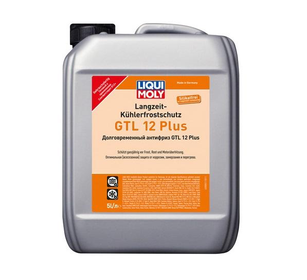 Антифриз LiquiMoly GTL12+ долговременный (красный) 5л 8851 (4шт/кор) арт. 8851
