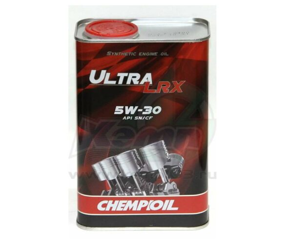 Масло моторное CHEMPIOIL SN/CF 5W-30 Ultra LRX VW Audi Skoda синтетическое metal 1л 97021(12шт/кор) арт. 97021