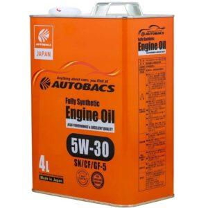 AUTOBACS ENGINE OIL FS 5W30 SN GF-5 Моторное масло 4л арт. A01508401