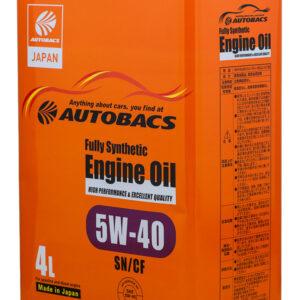 AUTOBACS ENGINE OIL FS 5W40 SN GF Моторное масло 4л арт. A01508404