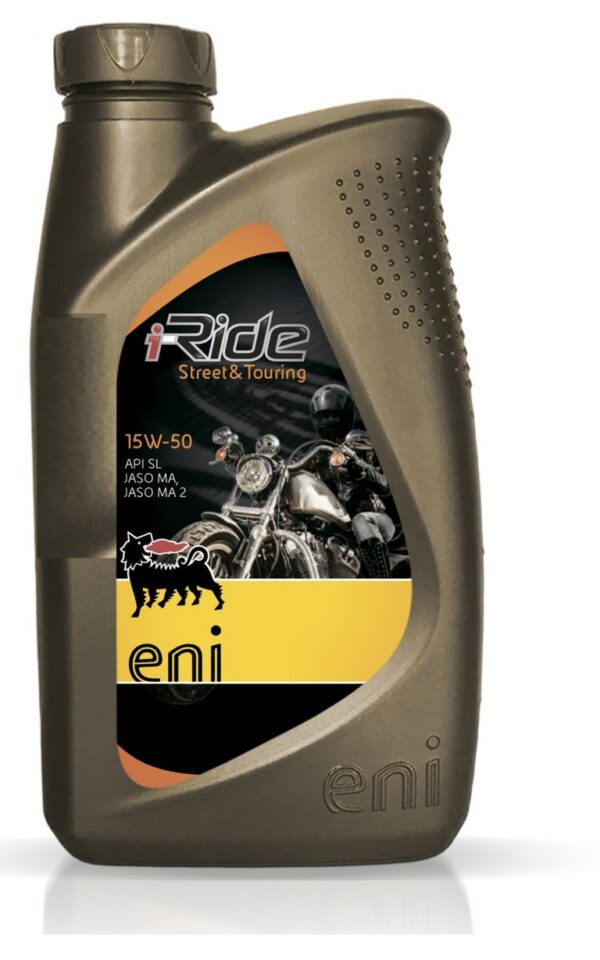 Масло моторное ENI I-Ride Moto 15W-50 1л полусинтетическое (12шт/кор) арт. ENIIRIDEMOTO15W501