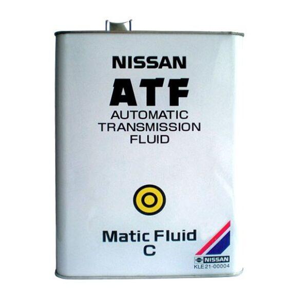 Nissan ATF C (KLE21-00004) Жидкость АКПП 4л арт. KLE21-00004