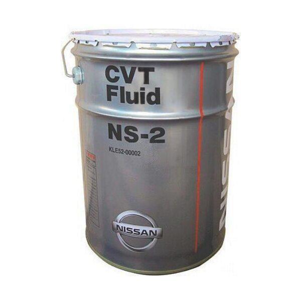 NISSAN CVT NS-2 20л (Жидкость для автоматических коробок передач вариаторного типа) арт. KLE52-00002