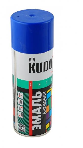 Эмаль универсальная ультрамориново- синяя 520мл арт. KU-10112