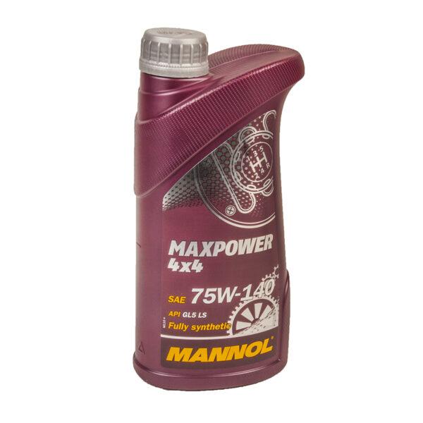 Масло MANNOL GL-5 75w140 4x4 Maxpower синт. трансмис. 1л (20шт/кор) арт. MN-1236