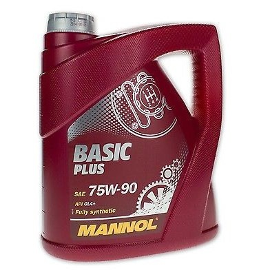 Масло MANNOL GL-4 75w90 Basic Plus син.трансм.масло (4л) (4шт/кор) арт. MN-1322
