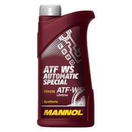 Масло трансм. MANNOL ATF WS Automatic Special 1л (20шт/кор) арт. MN-1367