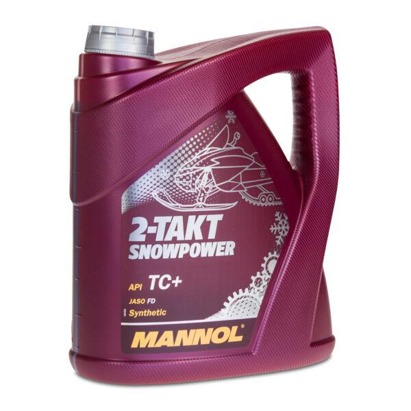 Масло MANNOL 2-TAKT SNOWPOWER синтетика 4л (4шт/кор) арт. MN-1431
