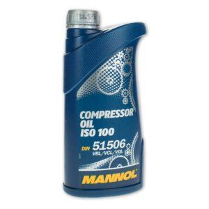 Компрессорное масло МANNOL Compressor Oil ISO 100 1л арт. MN-1918