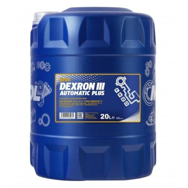 Масло MANNOL DEXRON II 20л арт. MN8205-20