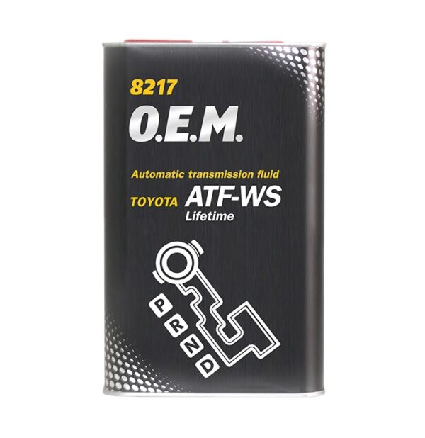 Масло трансм. MANNOL O.E.M ATF WS forToyota Lexus МЕТАЛЛ 1л (12шт/кор) арт. MN8217-1ME