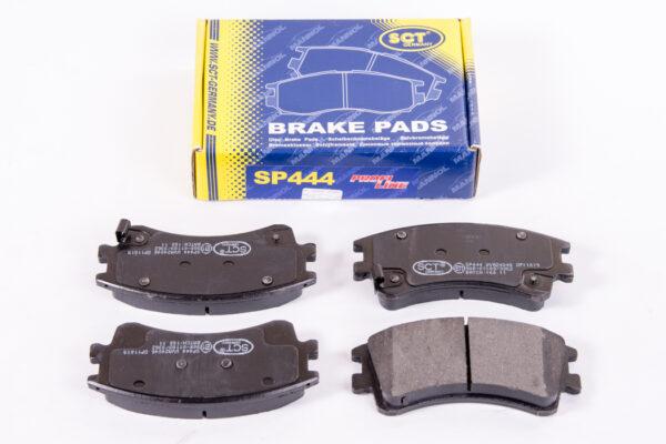 Тормозные колодки (комп.4шт) SP444 MAZDA 6 SCT арт. SP444