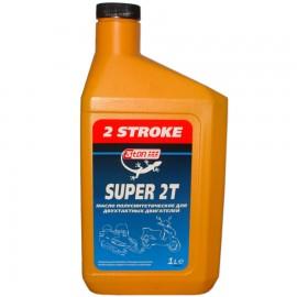 Масло полусинтетическое для двухтактных двигателей SUPER 2T 2 STROKE 1л TM-102 3TON (12шт/кор) арт. TM102