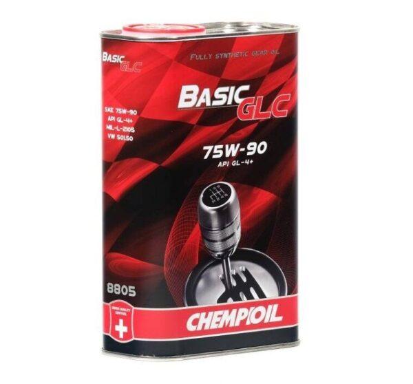 Масло CHEMPIOIL GL-4+ 75W-90 Basic GLC 1л синтетическое трансмиссионное 1л (20шт/кор) арт. s1321