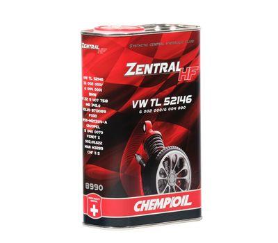 Масло CHEMPIOIL Zentral HF (CHF central hydraulic fluid) синтетическое гидравлическое1л (24шт/кор) арт. s2472