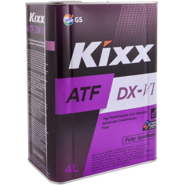 Трансмиссионная жидкость ATF DX-VI 4л Kixx син. арт. L252444TE1