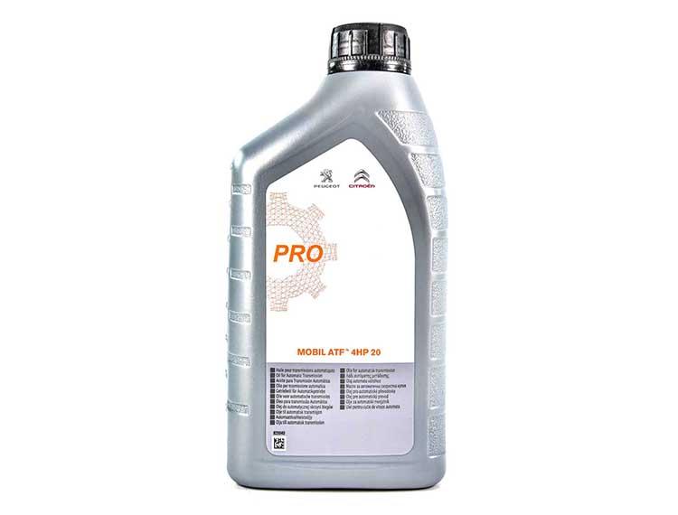 Оригинальное масло в АКПП Пежо 307