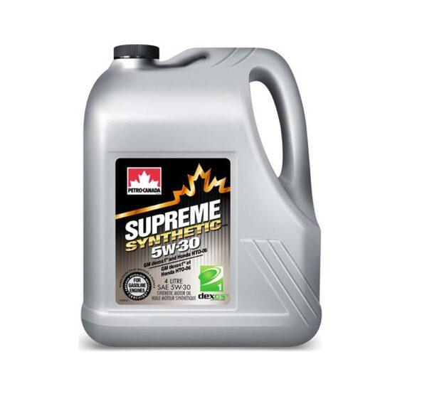 Petro-Canada Supreme Syntetic 5W30 4л синтетическое моторное масло арт. MOSYN53C16