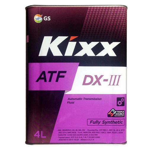 Трансмиссионная жидкость ATF DX-III 4л Kixx арт. L250944TE1