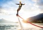 Полеты на флайборде - новый экстремальный вид спорта