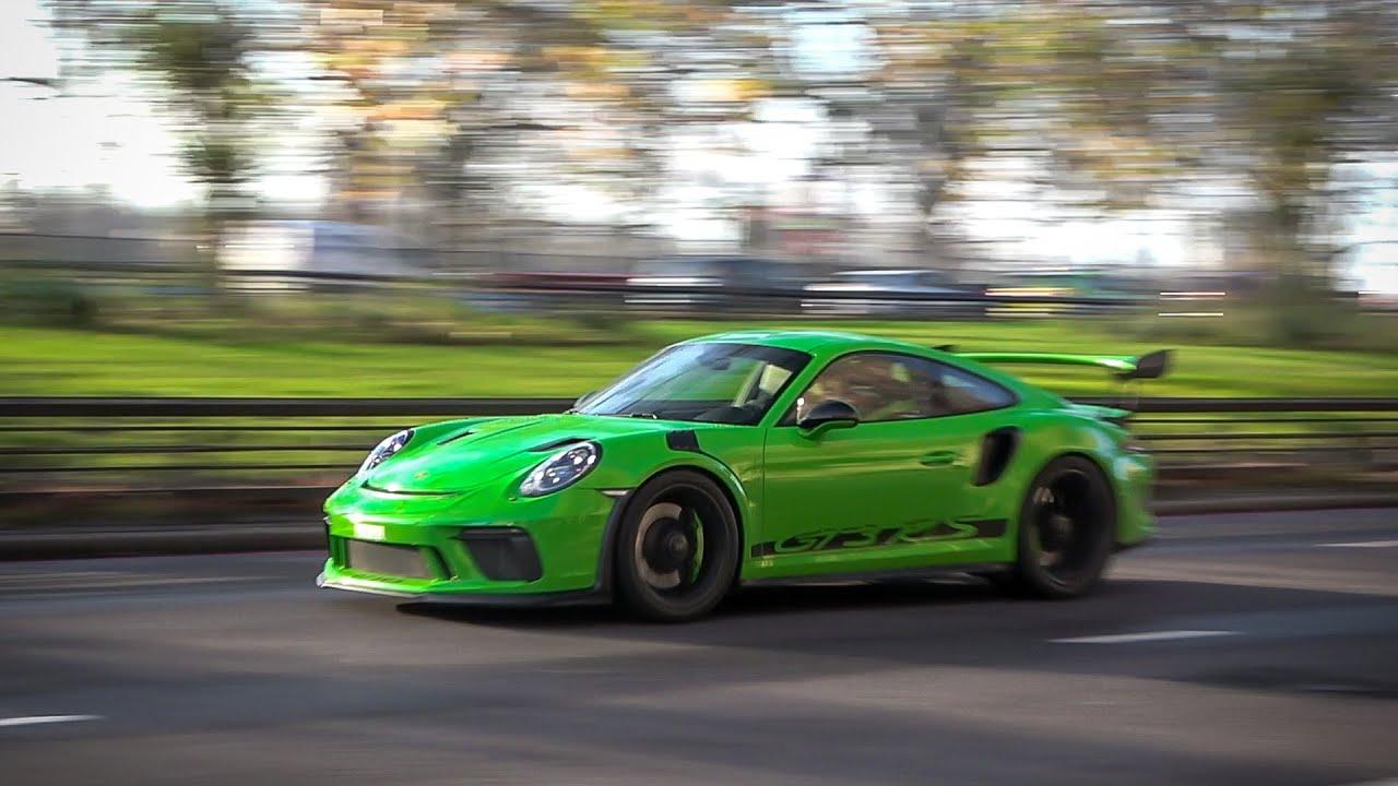 Габариты Porshe 911 GT3 RS