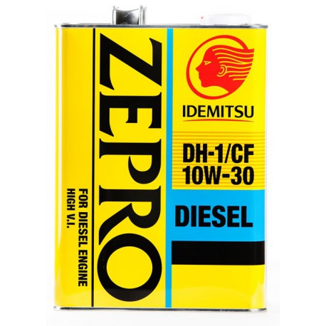 Масло моторное IDEMITSU ZEPRO DISEL CF/DH-1 10W30 4л арт. 2862004